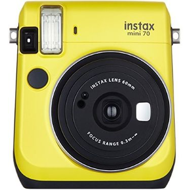 富士 FUJIFILM 趣奇checky instax mini70拍立得相机  暖日黄