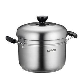 苏泊尔 蒸滋味蒸煮多用锅 304不锈钢复底