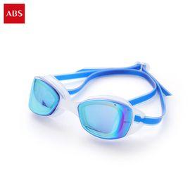 ABS 爱彼此 Jason防水雾液态硅胶气垫泳镜 男女通用 颜色随机