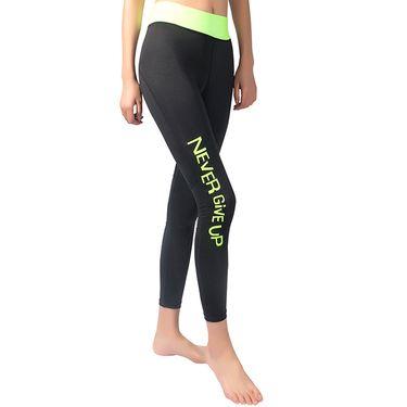 KELME/卡尔美星空运动紧身裤女瑜伽健身跑步长裤弹力速干提臀显瘦K007