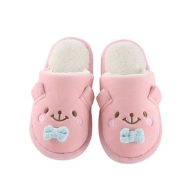 FASOLA 儿童卡通包跟棉拖鞋(建议买大一码)