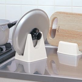 inomata 日本进口锅盖架 砧板架 菜刀板 厨房置物架1个