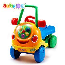 澳贝463411音乐踏行车宝宝玩具车儿童车早教益智启蒙运动健身玩具