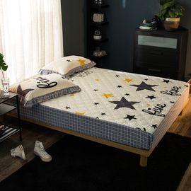馨乐屋 欧式田园全棉夹棉床笠 适合1.5-1.8米床 11款颜色可选 全棉床上用品 床品