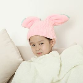 NISHIKI日本干发帽干发巾儿童可爱包头巾 成人干发帽