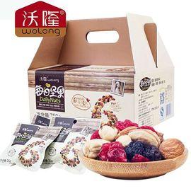 沃隆 每日坚果 成人A款 (25g*30包) 750g/盒  坚果炒货 坚果礼盒  零食 核桃 节日礼盒 榛子 蓝莓 蔓越莓