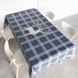 范居态度 北欧现代简约餐桌布艺台布圆桌布长方形茶几布客厅餐厅多用盖巾布 A款