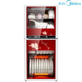 美的 消毒柜 二星级 100系列立式消毒柜/碗柜 MXV-ZLP100K03 红色