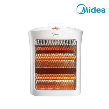 美的 取暖器 小太阳电暖器取暖电器家用电暖气迷你节能烤火炉 NS8-15D 白色