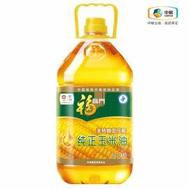 福临门 纯正压榨 非转基因 玉米油 健康食用油 精选原料 维生素E 3.5L
