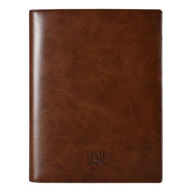 TIMEBOX 商务PU皮活页笔记本B5万用手册