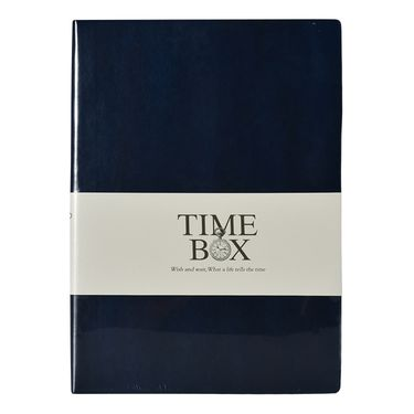 TIMEBOX 时尚开薄贴面16K笔记本
