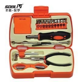 圣德保罗 21件套家用工具套装 迷你便携组套 工具箱SD-037