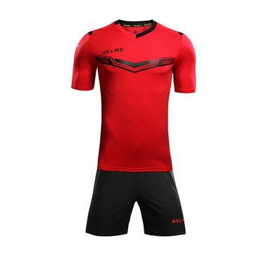 KELME卡尔美 足球服套装男成人短袖 组队球衣正品比赛服定制队服KMC160031