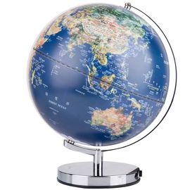 得力 30cm浮雕教学LED发光地球仪 2165