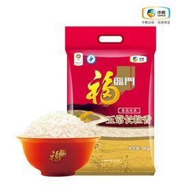福临门 五常长粒香 5kg 东北大米 长粒米 优质稻种 浓郁米香