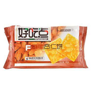 好吃点 香脆杏仁饼(袋装 208g)