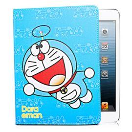 艾芭莎 ipad壳ipad保护套ipad全系列 mini1234 /ipad23456/2017新iPad 叮当猫款