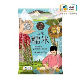 初萃 五常糯米 东北糯米粽子用五谷杂粮 香糯粘滑 白润如玉 颗粒圆滑 400g(中粮出品)