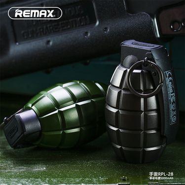 remax充电宝手机移动电源军迷雷创意个性礼物便携通用炫酷定制潮人移动电源
