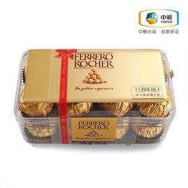 【中粮】FERRERO ROCHER费列罗榛果威化巧克力16粒200g