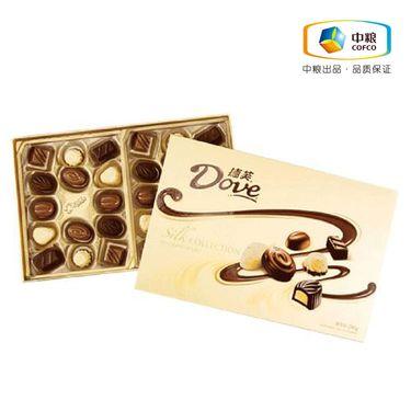 德芙 精心之选巧克力礼盒装280g 新老包装随机发货