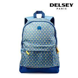 维仕蓝 法国大使(Delsey) 神偷奶爸3小黄 人 中小学生书包男女 透气休闲双肩包 70361060112