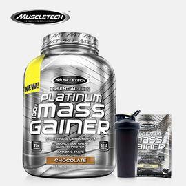 MUSCLETECH  肌肉科技 白金增肌粉6磅 健身增肌蛋白粉 送试用装和杯子