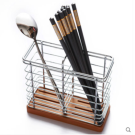 双枪 不锈钢筷笼 沥水多功能筷笼 厨房餐具收纳架 沥水架