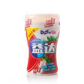 益达 木糖醇无糖口香糖清爽草莓味70粒装