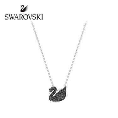 Swarovski 施华洛世奇 小号黑天鹅水晶质感项链 5347330