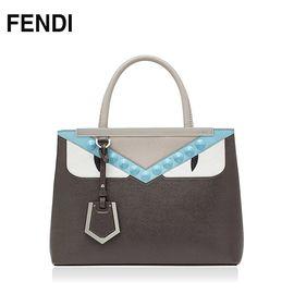 FENDI /芬迪 手提包 8BH253 意大利进口 经典纯皮 洲际速买