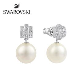 Swarovski 施华洛世奇 珍珠耳钉人造水晶1106454