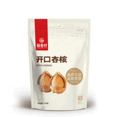 稻香村 开口杏核100g小银杏坚果袋装零食