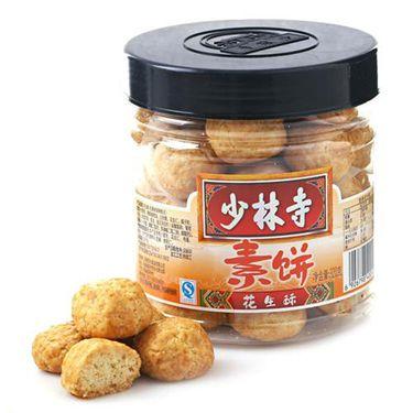 中粮  【中粮】少林寺素饼花生酥(罐装 320g)