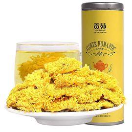 中粮 贡苑 金丝皇菊花茶 黄菊35g/罐 茶叶 花草茶