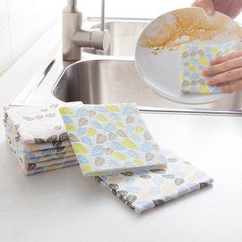 丽芙 家居 超强去油洗碗巾(8片装) 懒人洗碗巾 厨房清洁懒人抹布百洁布不沾油一次性洗碗