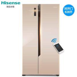 Hisense/海信 BCD-628WTET/Q 冰箱家用对开门 风冷电脑阿里云智能