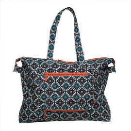 ELLE 女包新品菱形花可折叠旅行袋E36F1433001MT