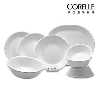 World Kitchen 康宁 CORELLE 餐具 – 螺纹系列 CR-W03(八件套)