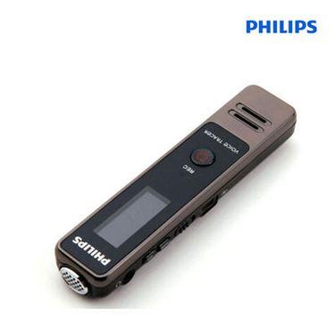 飞利浦 (PHILIPS)VTR5000会议录音笔 迷你录音笔数字降噪声控录音mp3音乐播放 Vtr5000