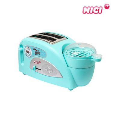 NICI 烤面包机 家用2片全自动多士炉 早餐机土吐司机家用多功能早餐机蒸蛋机NQ21264
