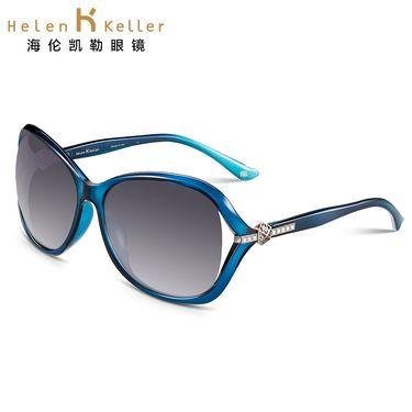 海伦凯勒 太阳镜女款 林志玲设计款偏光 简约时尚墨镜女明星同款墨镜太阳镜H8312
