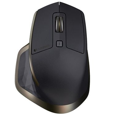 【顺丰速发】罗技(Logitech)MX MASTER蓝牙鼠标优联双模无线鼠标(儒雅黑)