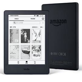 kindle 亚马逊 Kindle 电子书 X咪咕 黑 6英寸电子墨水触控屏 WIFI电子书阅读器 现货速发