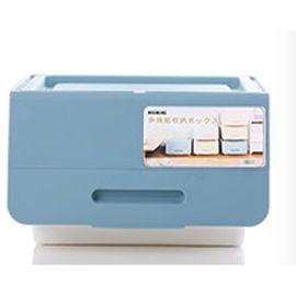 NISHIKI塑料收纳箱前开式大号整理箱玩具塑料百纳箱储物箱可叠加