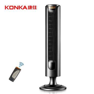 康佳(KONKA)KF-TAS0102遥控塔扇/电风扇 家用静音大厦扇寝室宿舍 定时无叶电风扇 节能落地