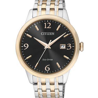 西铁城 (CITIZEN)手表 光动能 不锈钢男表 BM7304-59E