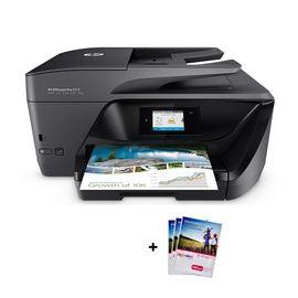 HP/惠普 6960 四合一 彩色喷墨 一体机 无线QQ打印机 电子发票专用  打印机 高速双面打印 现货速发