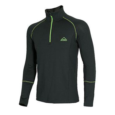 MCKINLEY 男装装Wallan ux运动舒适透气针织套头衫长袖T恤256999